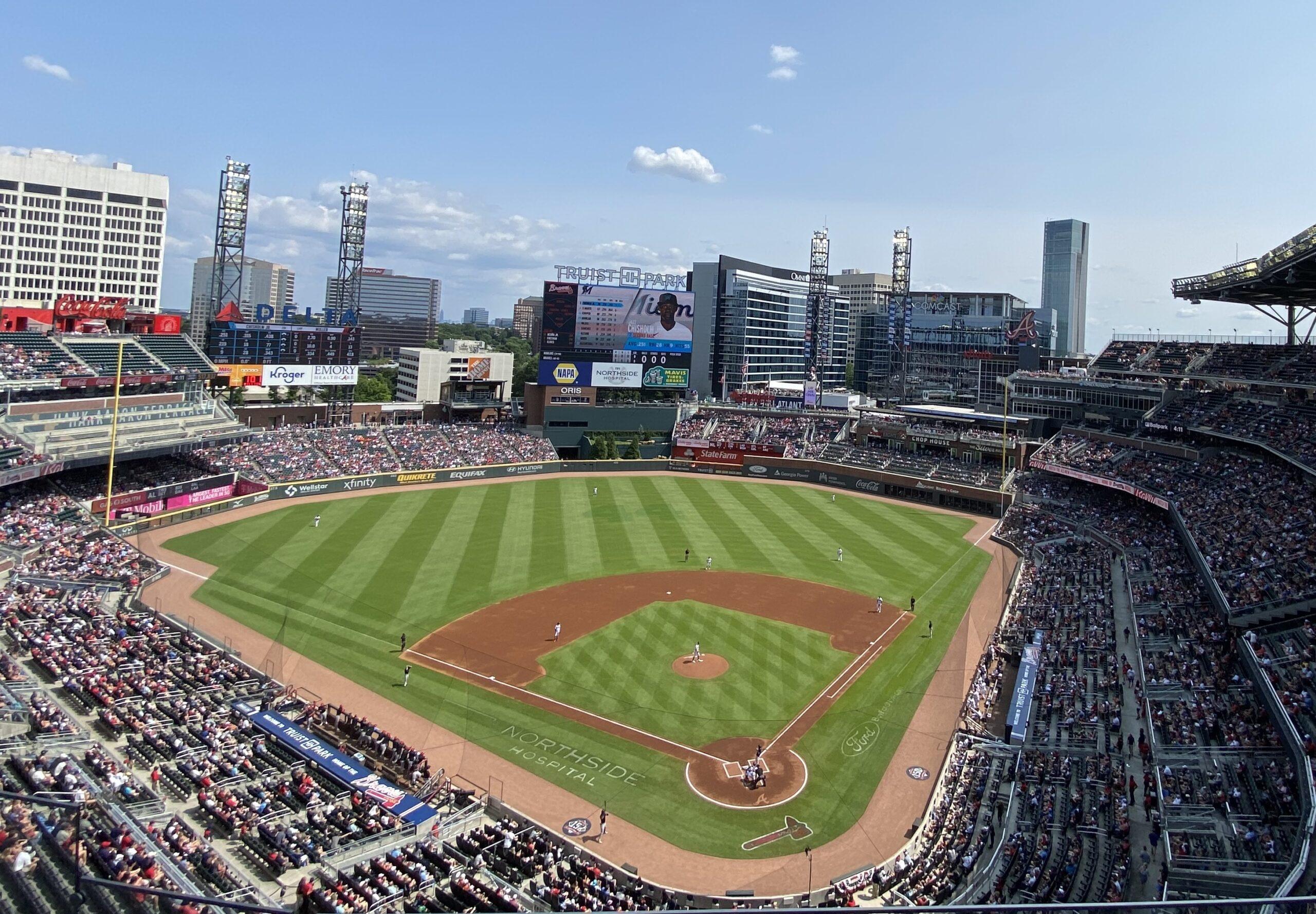 Truist Park, home of the Atlanta Braves