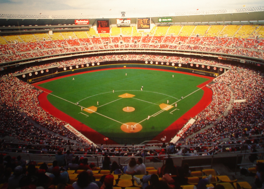 Veterans Stadium - history, photos and more of the
