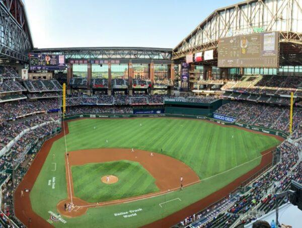Globe Life Field, home of the Texas Rangers
