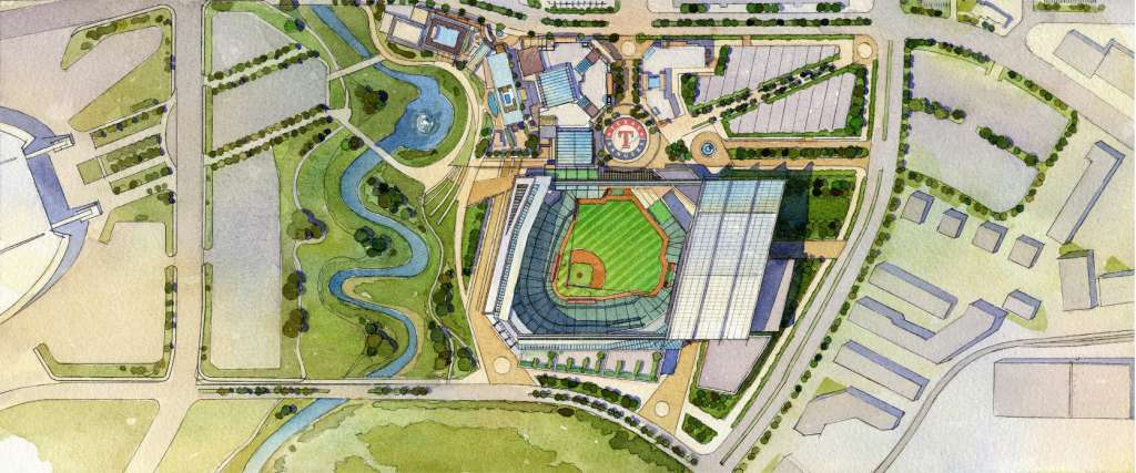 Globe Life Field Pictures Information And More Of The