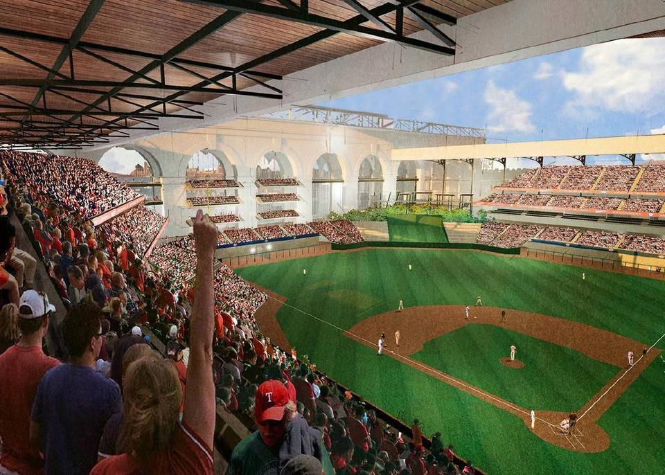 Future Texas Rangers Ballpark