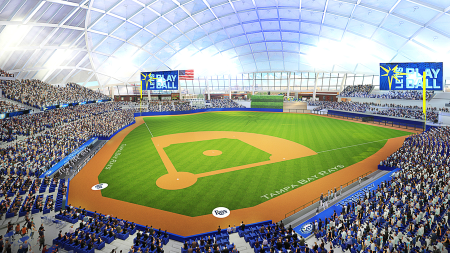 Future Tampa Bay Rays ballpark