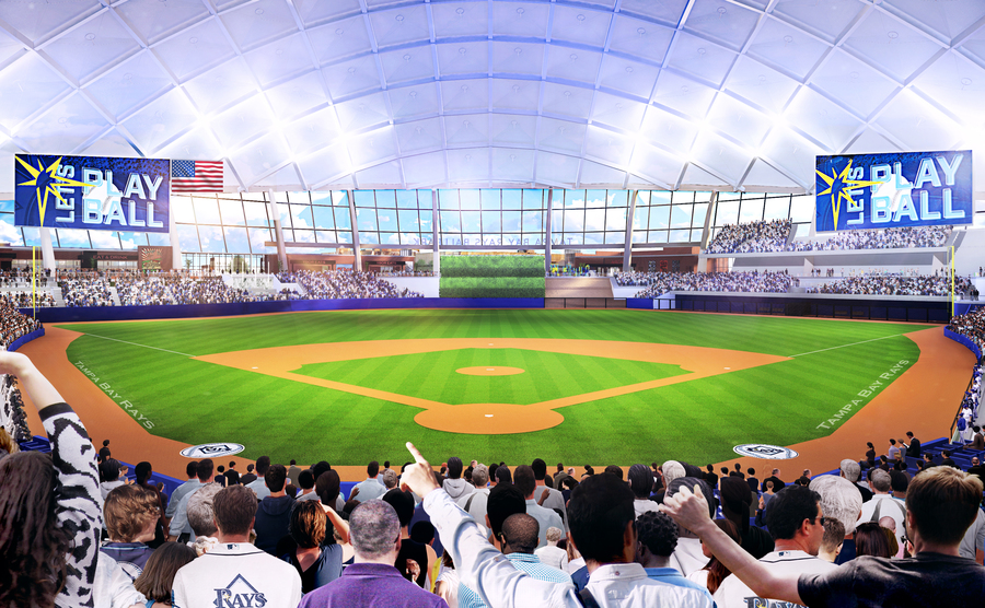Rays Ballpark Pictures Information And More Of The