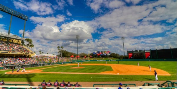 Champion Stadium, spring training home of the Atlanta Braves