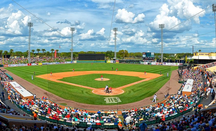 Joker Marchant Stadium, Spring Training home of the Detroit Tigers