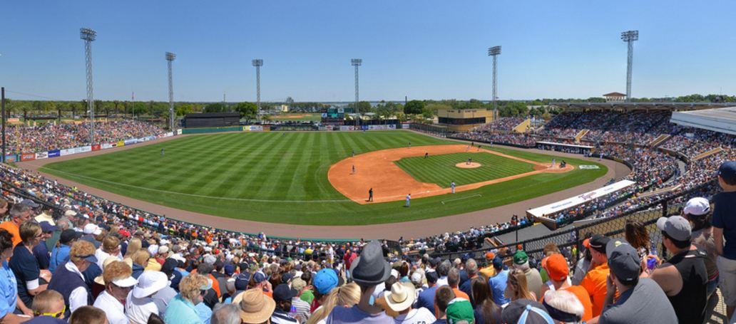 Joker marchant stadium spring training ballpark of the detroit tigers
