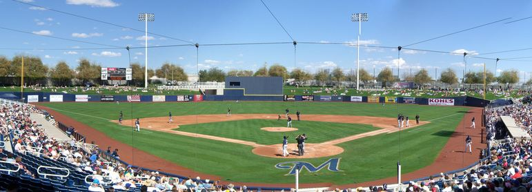 Maryville Baseball Park, Spring Training home of the Milwaukee Brewers