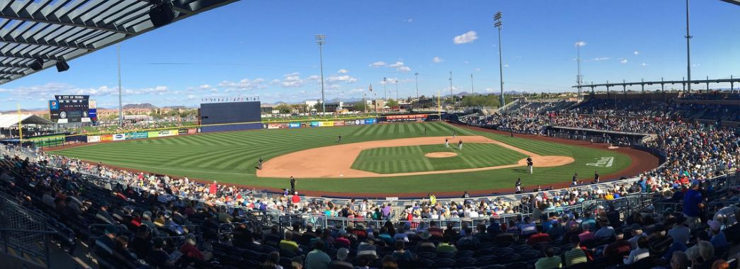Peoria Stadium, Spring Training home of the Seattle Mariners