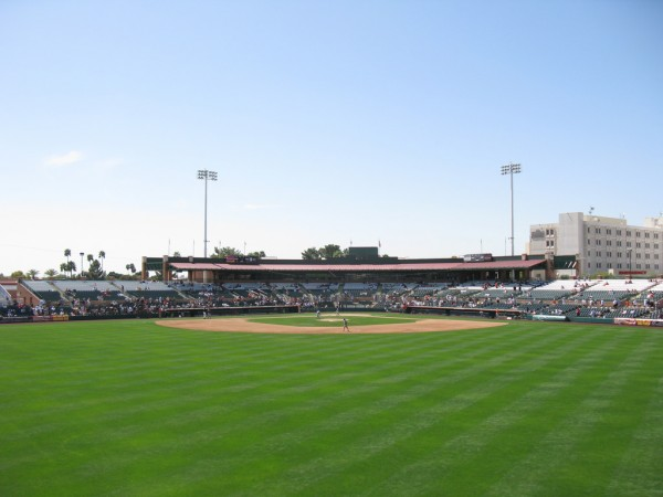Scottsdale Stadium, Spring Training home of the San Francisco Giants