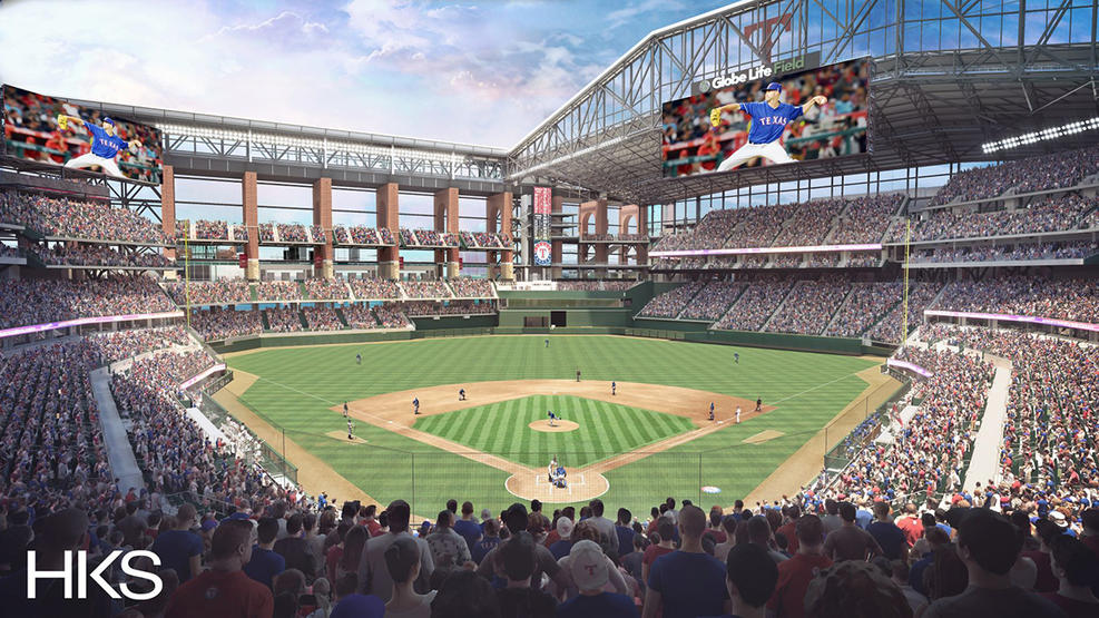 Globe Life Field - pictures, information and more of the future ...
