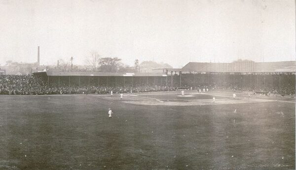 Bennett Park, former home of the Detroit Tigers