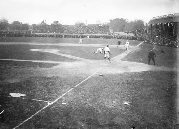 Bennett Park, former home of the Detroit Tigers