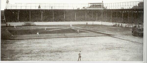 Columbia Park, former home of the Philadelphia Athletics