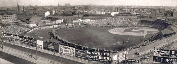 Huntington Avenue Grounds, former home of the Boston Americans/Red Sox