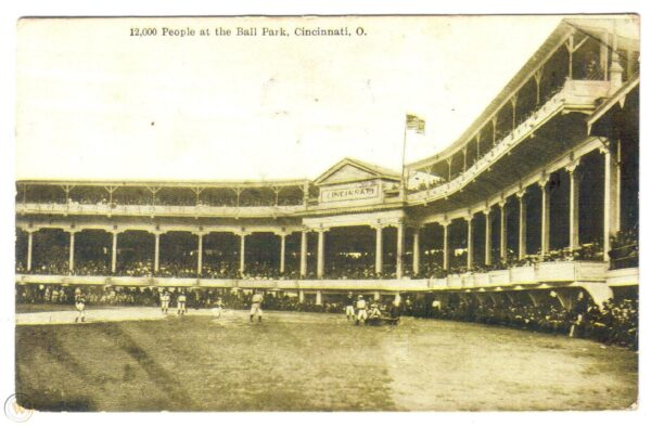 Palace of the Fans, former home of the Cincinnati Reds