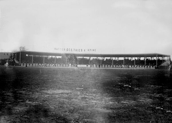 Robison Field, former home of the St. Louis Cardinals