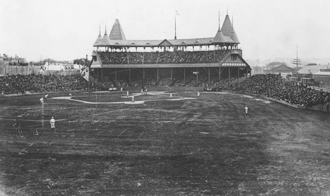 South End Grounds, former home of the Boston Braves.